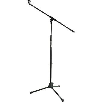 Tiger MCA68-BK Microphone Boom Stand, Mic Stand with Free Mic Clip -