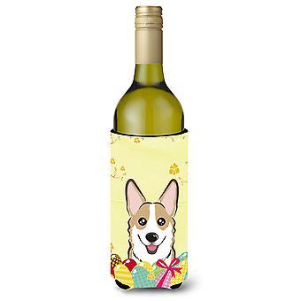 Sable Corgi Easter Egg Hunt vinho garrafa bebida isolador Hugger