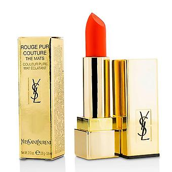 Yves Saint Laurent Rouge Pur Couture The Mats - # 220 Crazy Tangerine - 3.8g/0.13oz