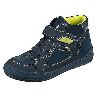 Lurchi Bar Dark Petrol Wax Leder Crazy 331473129 universal all year kids shoes