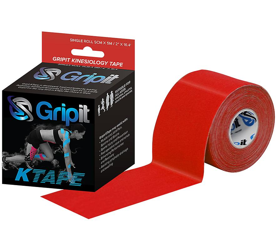 Clinical Kinesiology Tape 5cm x 5m Red