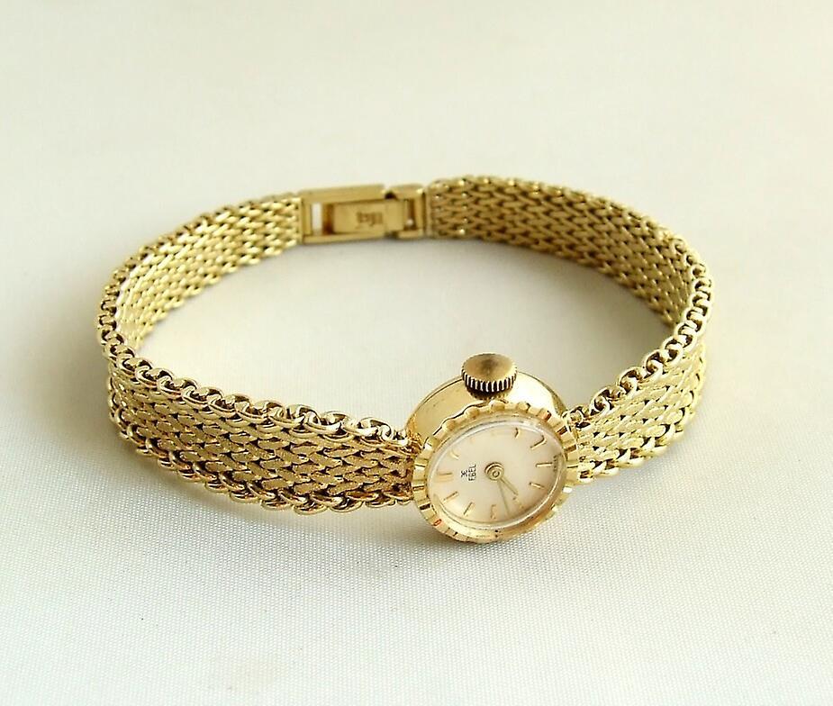 Gold Ebel watch