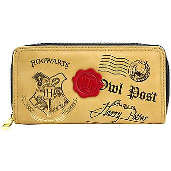 Harry Potter Hogwarts Owl Post Coin & Card Clutch Purse
