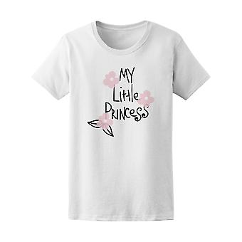 Mi pequeña princesa Graphic Tee - floral imagen de Shutterstock
