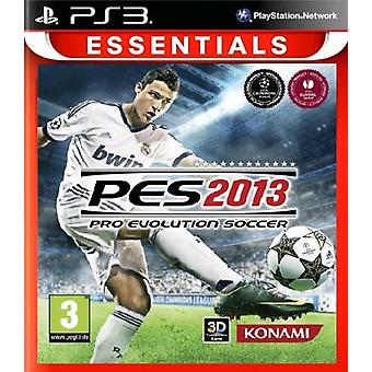 PES 2013 PlayStation 3 Essentials (PS3) - Factory Sealed