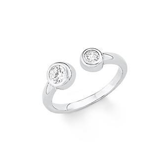 s. Oliver ladies di gioiello anello argento zirconi SO1409