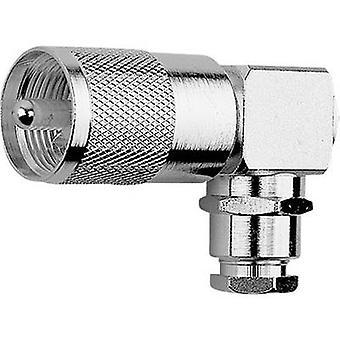 Telegärtner J01040B1201 UHF Connector plugg, rätvinklig 50 Ω 1 PC (s)