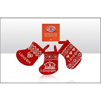 Union Jack usura Londra maglia calza di natale decorazioni