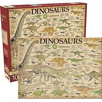 Dinosaurier 1000 Puzzle Puzzle 710 X 510 Mm
