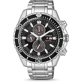 Citizen mens watch ProMaster marine ISO diver BB´s chronograph CA0711-80 H