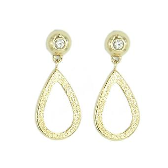 Skagen women's earrings glitter gold JESG002