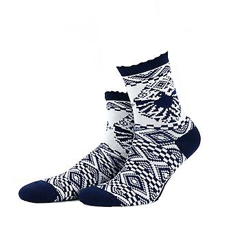 Animal Womens May Nala Nordic Print Socks Girls Christmas Socks - 4-7UK