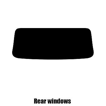 Pré corte matiz janela - Toyota MR2 Open Top - 2000 a 2004 - janelas traseiras
