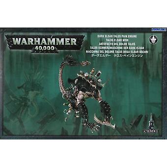 Games Workshop Warhammer 40.000 donkere Eldar Talos pijn motor