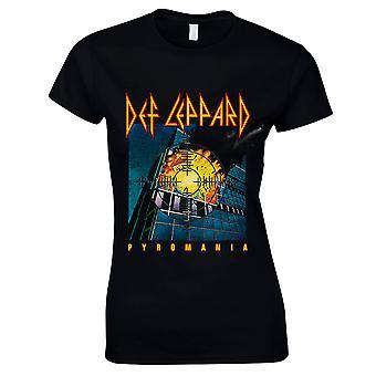 Def Leppard-Pyromania T-Shirt, women