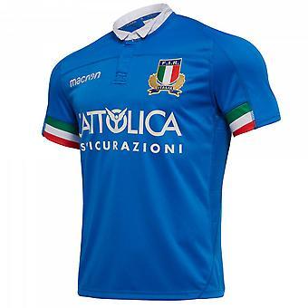 2018-2019 Italien hem replika Rugby Shirt (Kids)