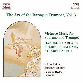 Barokki trumpetti-Vol. 3 - barokki trumpetti, Vol. 1 [CD] USA tuonti Art Art