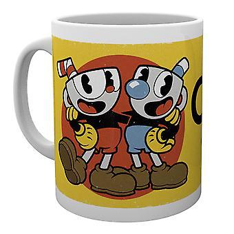 Cuphead Cuphead & Mugman Solo Mug