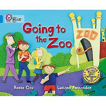 Big Cat Collins - aller au Zoo: bleu/bande 4