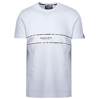 Marshall Artist White Short Sleeve Logo T-Shirt