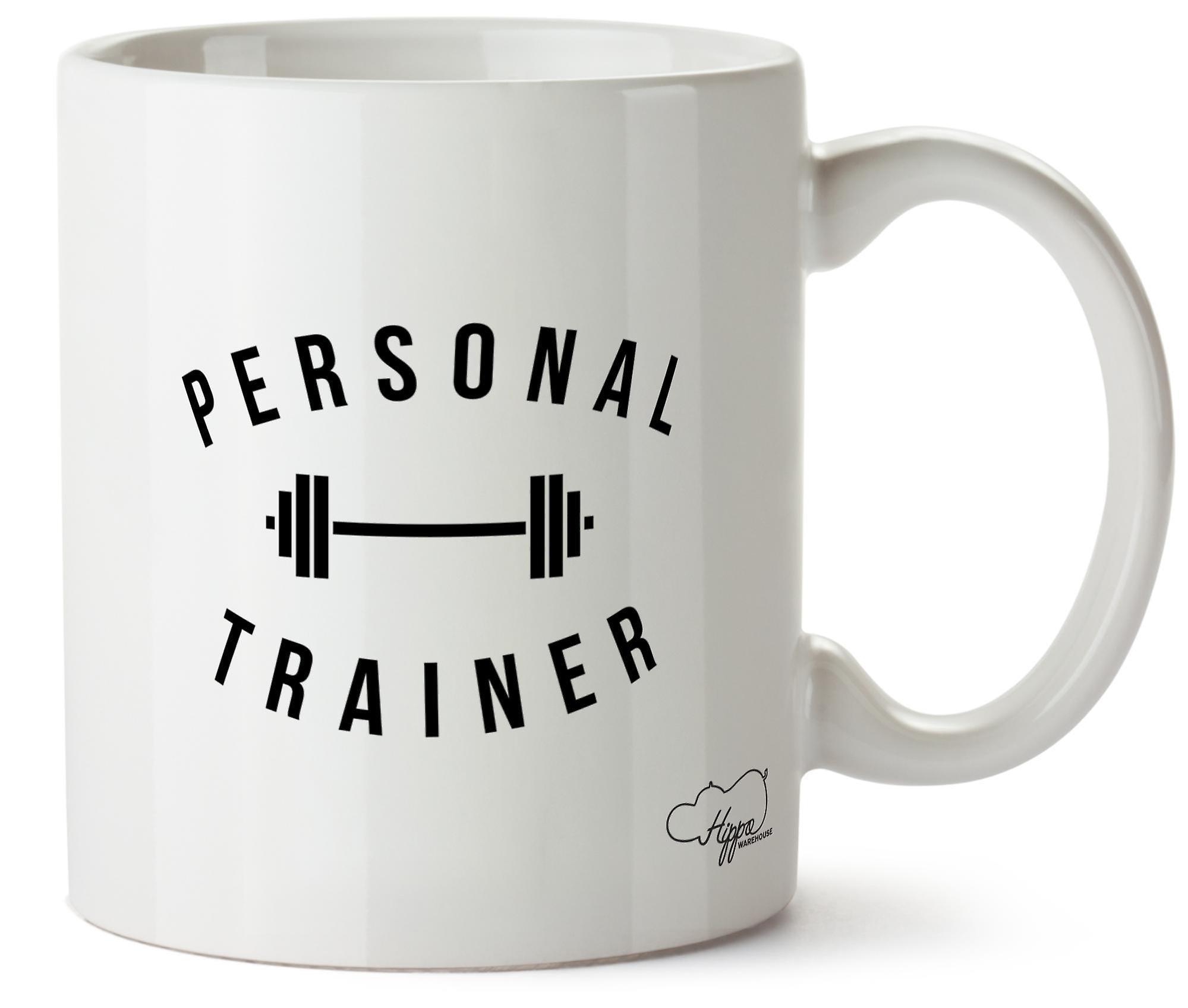 Hippowarehouse Personal Trainer Printed Mug Cup Ceramic 10oz