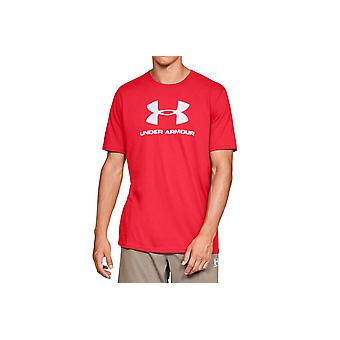 Under Armour Sportstyle Logo Tee 1329590-600 Mens T-shirt