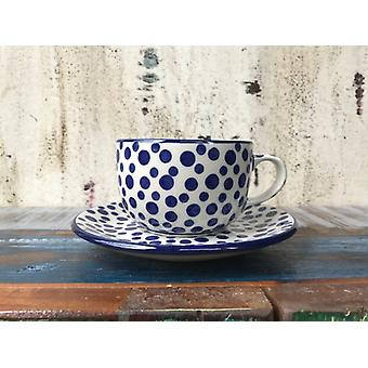 Cup with saucer, 200 ml, crazy dots, BSN A-0928
