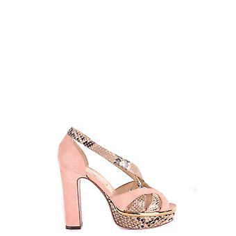 L'autre Koos Ezbc085006 Dames's Pink Leather Sandalen