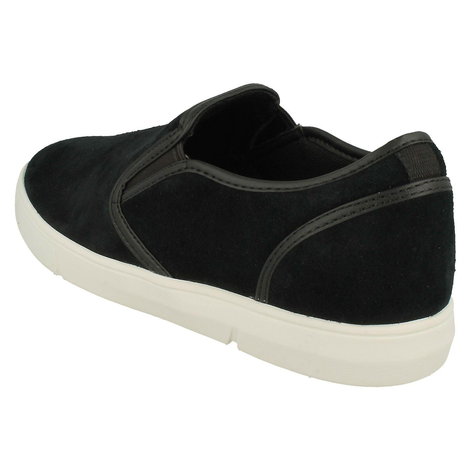Slip Mens Clarks Occasionnels Chaussures Landry Étape
