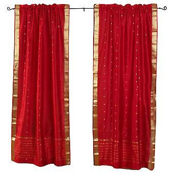 Feuer Ziegel Gardinenstangen Pocket schiere Sari / drapieren / Panel - Stück