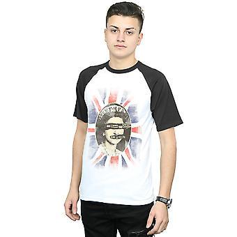 Sex Pistols mäns Gud spara drottningen baseball T-shirt
