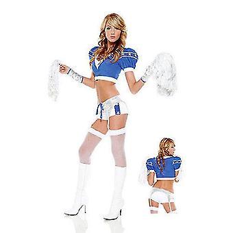 Sideline Sweetheart kostium/piłka nożna Sport Cosplay