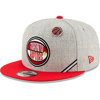 New Era Snapback Cap - NBA 2019 DRAFT Toronto Raptors