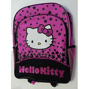 Backpack - Hello Kitty - Black Star  16