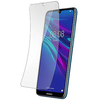 Skærmbeskytter Huawei Y6 2019 transparent og buet fleksibel latex beskyttelse