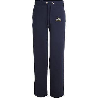 Royal Lincolnshire Regimento-licenciado British Army bordados abertos hem Sweatpants/jogging Bottoms