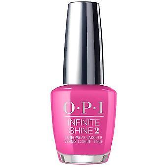 OPI Infinite Shine ingen drejning tilbage fra Pink Street-Lissabon 2018 neglelak uendelig glans 10 dages slid (ISL L19) 15ml