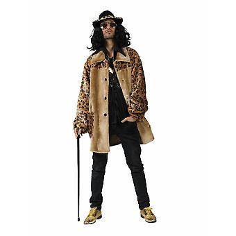 Pimp Daddy Coat mäns kostym Pimp Leo jacka mäns kostym