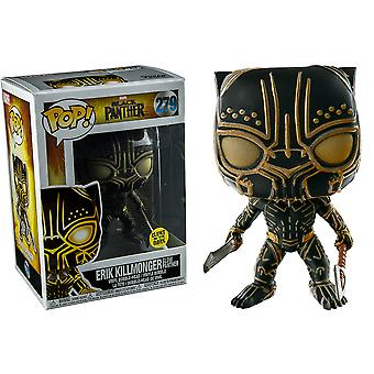 Black Panther Killmonger Panther Glow US Pop! Vinyl