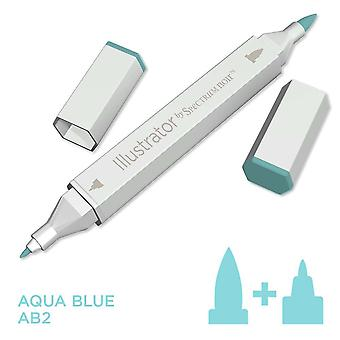 Illustrator by Spectrum Noir Single Pen - Aqua Blue