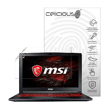 Celicious Vivid Plus Mild Anti-Glare Screen Protector Film Compatible with MSI GL62M 7RC [Pack of 2]