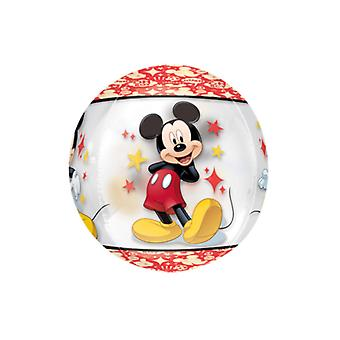 Mickey Mouse Clear Supershape Orbz Balloon