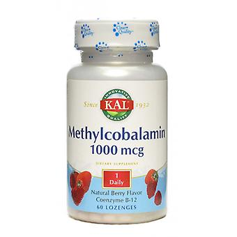 Solaray Methylcobalamin 60 Tabletten