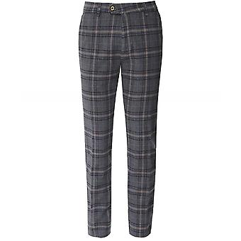 Mmx Slim Fit Flannel Check Lupus Trousers