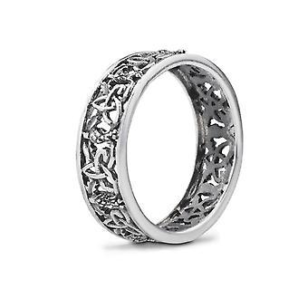 Outlander Inspired Scottish Highland Interlace Ring