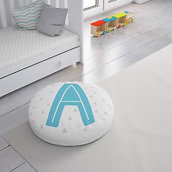 Meesoz Floor Cushion - Letter Boy - A
