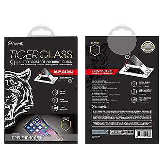 Film For Iphone X Screen Protection Tempered Glass Incurvé With Applicator