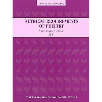 Näringsbehov av fjäderfä - 1994 (9: e reviderade upplagan) av Subco