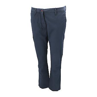 GANT CLASSIC CROPPED CHINO Women's Chino Blue NEW Pants Office