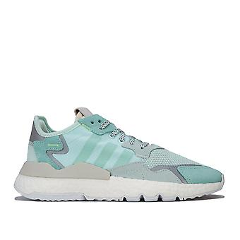 Womens adidas Originals Nite Jogger Trainers In Ice Mint / Clear Mint / Raw